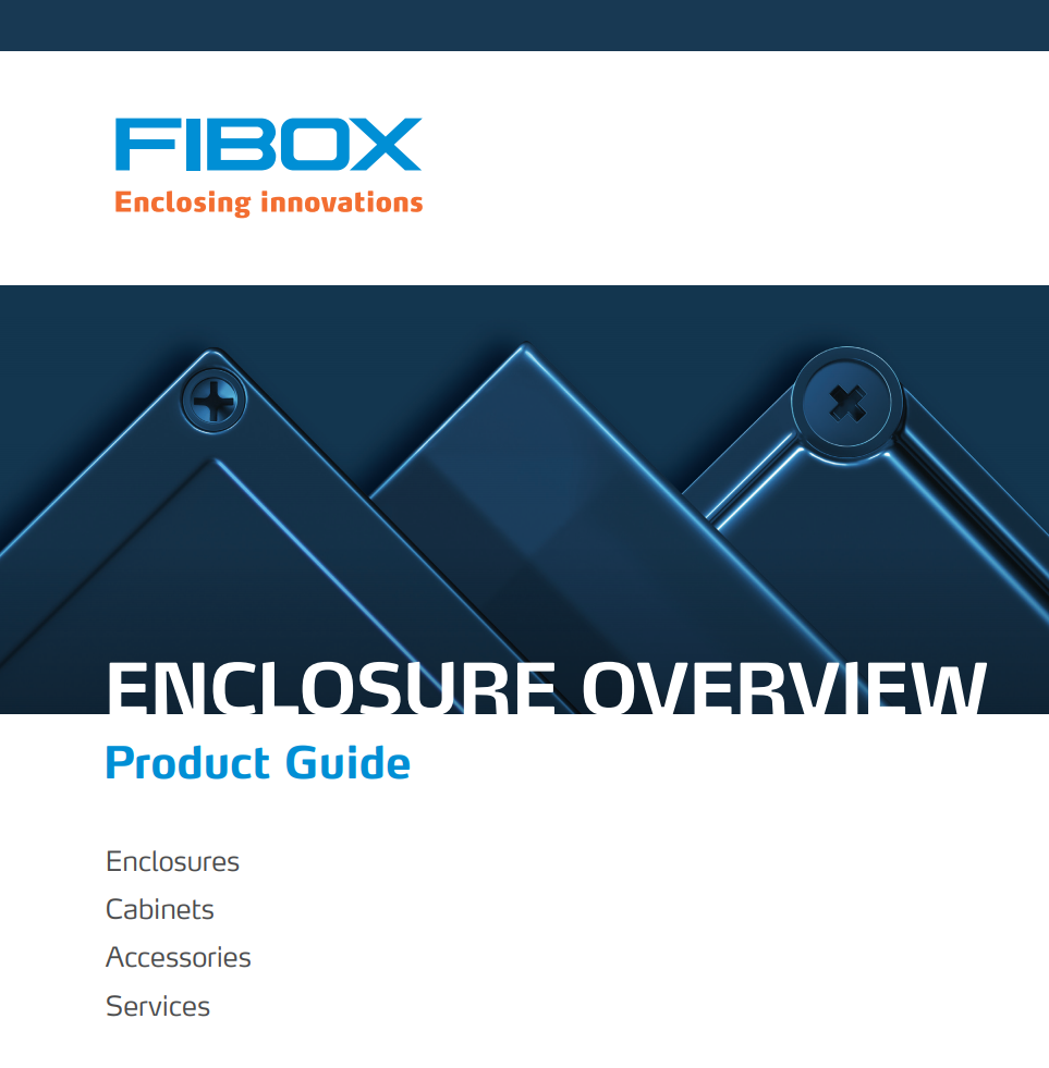 Enclosure Overview Cover Page